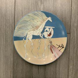 Salvador dali- art plate – lim ed