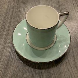wedgwood- Jasper Conran- colour-esp kop & schotel mint