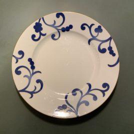 richard Ginori – oscar de la rente – blauw servies- dinerbord