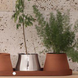 Weddinglist – Daniel van Dalen  and Blair Gillespie- Georg Jenssen – Terra tray set of 3 pots
