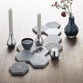 Weddinglist – Daniel van Dalen  and Blair Gillespie- Georg Jenssen- set of 2 candlestick holders Cafu