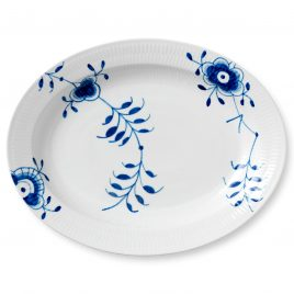Weddinglist – Daniel van Dalen  and Blair Gillespie- Royal Copenhagen – blue mega- serving dish 36,5 cm