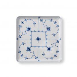 Weddinglist – Daniel van Dalen  and Blair Gillespie-  Royal Copenhagen – blue plain- square plates 20 cm