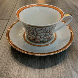 Versace-Rosenthal- les etoilés de la mer- thee kop & schotel