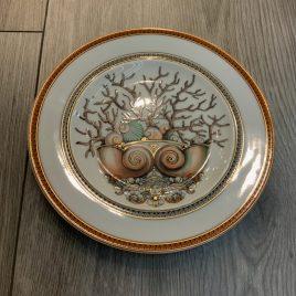 Versace-Rosenthal- les etoilés de la mer- gebaksbordje 18 cm