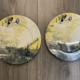 Gollhamer-vienne vient -diner for two-  2 dinerborden 227 cm –