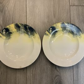 Gollhamer-vienne vient -diner for two-  2 diepe borden 22 cm –