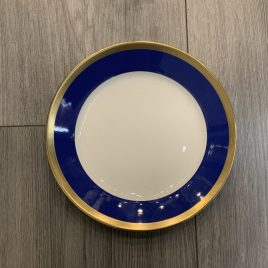 Rörstrand- Nobel- blauw dessert 22 cm