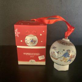 hutschenreuter – kerstbal  2020- weinnachtskugel