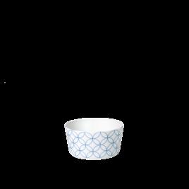 Sieger by Fürstenberg- Seven-Floral Blue- kleine schaal