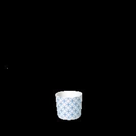 Sieger by Fürstenberg- Seven-Geometric blue- espresso kop