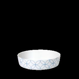 Sieger by Fürstenberg- Seven-Floral Blue- grote schaal